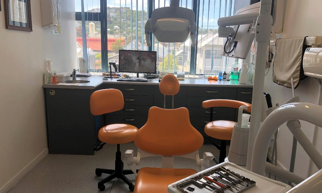 PDC Orange Examination Room